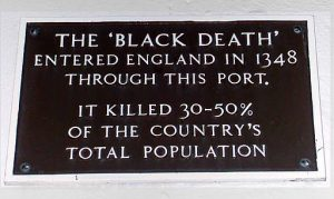 Black Death in England
