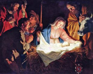 christmas scene nativity