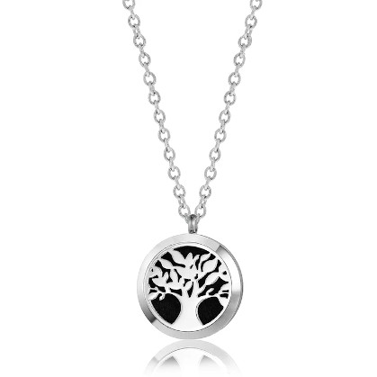 OilLife Tree Of Life Diffuser Necklace