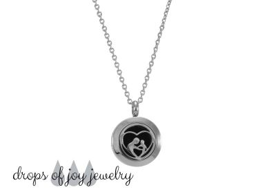 Mother-Child Diffuser Necklace